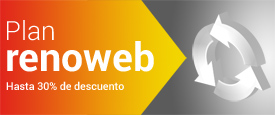 Plan renoweb. Actualiza tu vieja web con importantes descuentos.