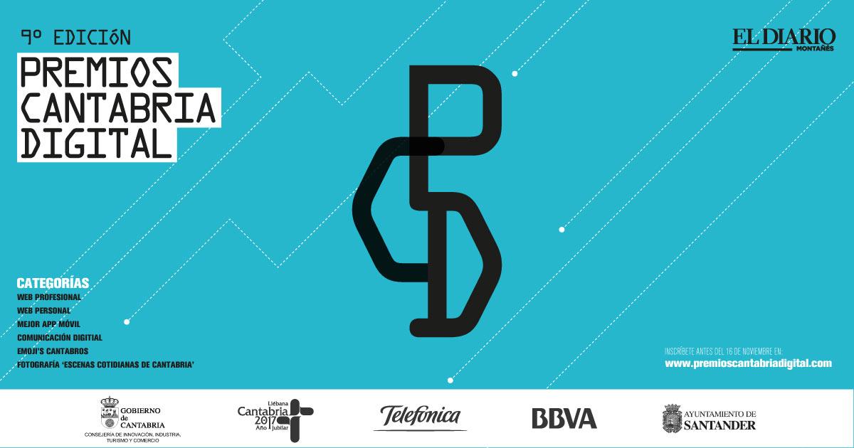 Premios Cantabria Digital 2016