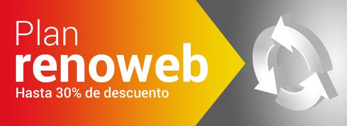 Plan renoweb. Actualiza tu vieja web con importantes descuentos